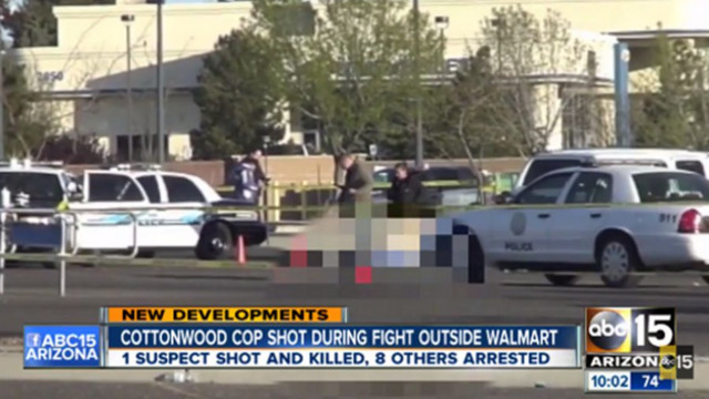 Brawl Wal-Mart Leaves Man Dead, Ariz. Officer Shot