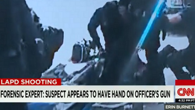 Expert: Man Had Hand on Officer's Gun