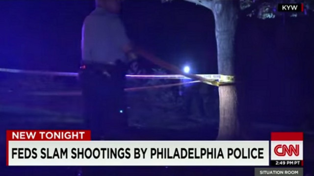Feds Slam Shootings by Philadelphia Police