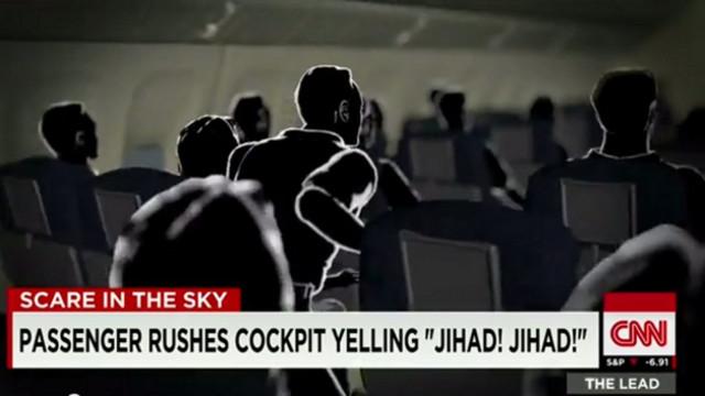 Unruly Passenger Screams 'Jihad' on Plane