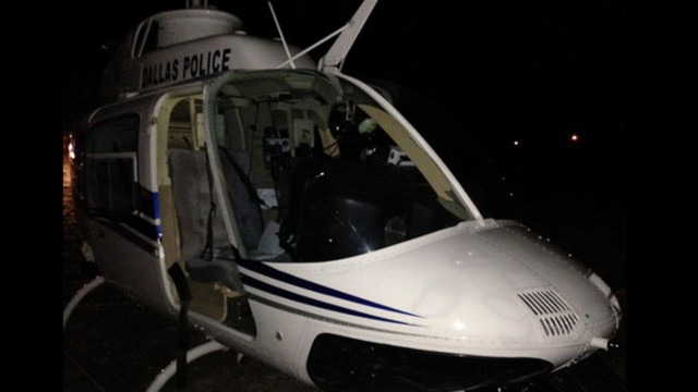 Police Helicopter Makes Emergency Landing