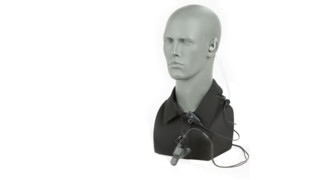 Two-Wire Patrol Kit Headset Communications Kit for Law Enforcement Officers