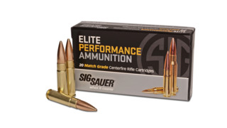 SIG SAUER® Introduces Supersonic 300 Blackout Elite Performance Ammunition