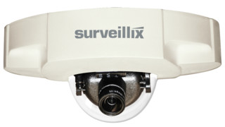 Low-Profile IP Dome Camera (Model IKS-WD6112)
