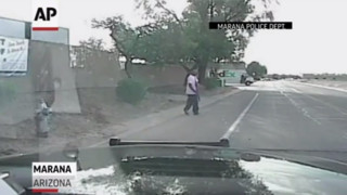 Video Shows Arizona Cruiser Hit Suspect