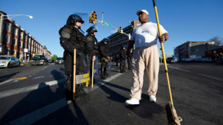 Cleanup Begins After Violent Baltimore Riots