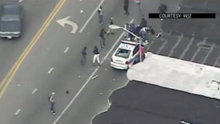 At Least Seven Baltimore Officers Injured in Riots