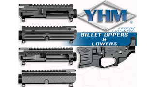 YHM Stripped Billet Uppers and Lowers