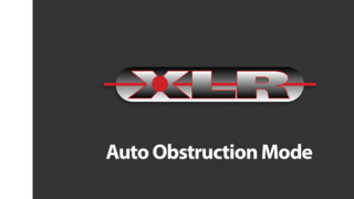 Stalker XLR LIDAR Auto Obstruction Mode