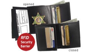 RFID Shielding Leather Wallets