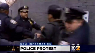 Protesters Clash With NYPD Officers
