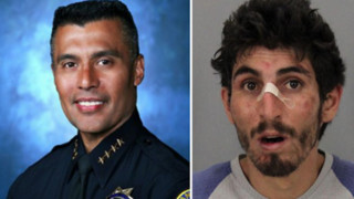 San Jose Chief Tackles Murder Suspect