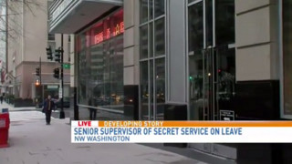 Secret Service Supervisor Placed on Leave