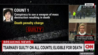 Tsarnaev Found Guilty; Eligible for Death Penalty