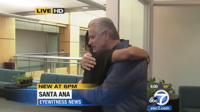 Officer Reunited With Man He Saved as Baby