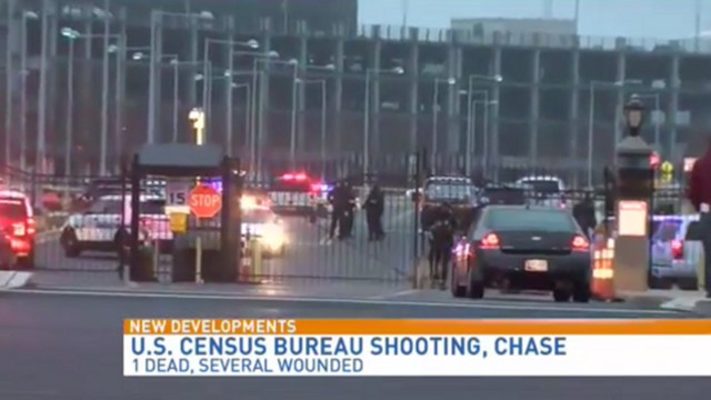 Gunman Fatally Shoots Census Bureau Guard