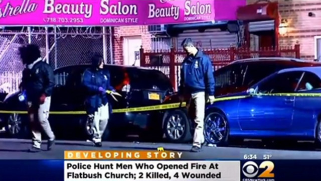 Two Dead in Shooting Outside NYC Church