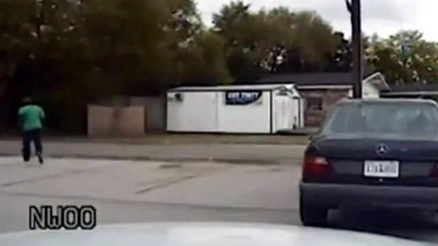 Dashcam Shows Moments Before Fatal Shooting