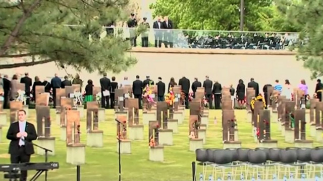 Two Decades Since OKC Bombing Marked