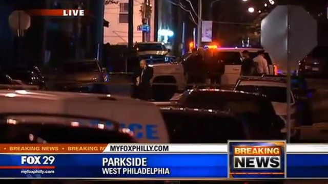 Philadelphia Police Officer Shot by Suspect