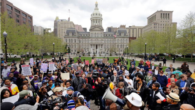 Protesters Demand Justice in Baltimore Arrest