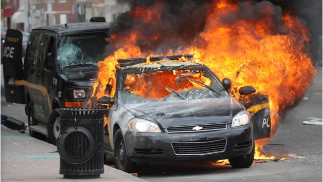 Editor's Blog: Rage Burning in Baltimore