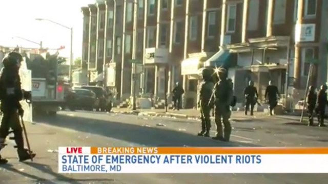 Baltimore Starts Clean Up After Riots