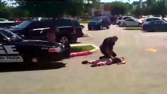 Texas Police Chief Defends Officer's Takedown