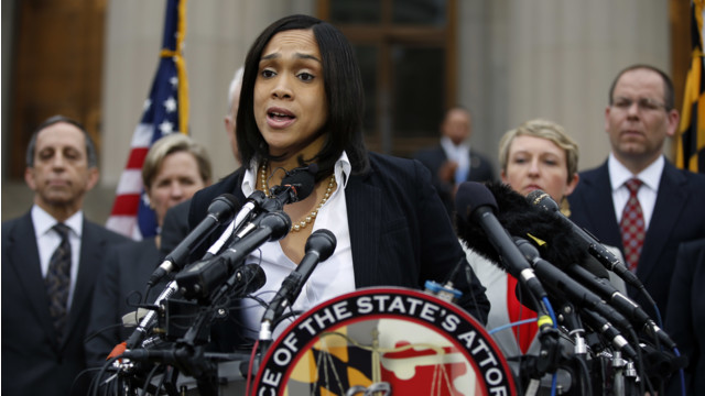 Prosecutor Charges Six Baltimore Officers