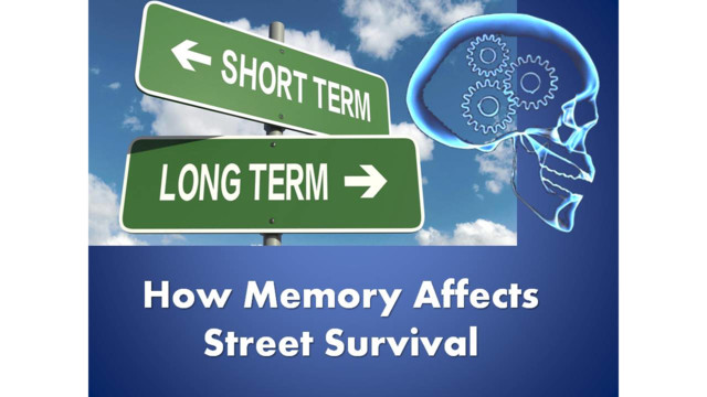 Short Term And Long Term Memory : Short long term memory officer