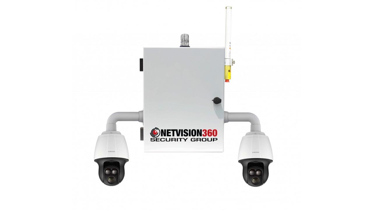 Dual Infrared Ptz Pole Mount Cameras Officer Com