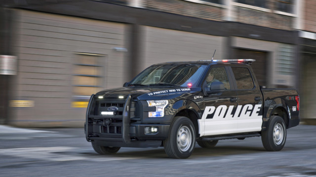 f 150 special service vehicle ssv police law enforcement truck