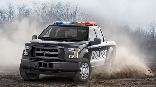 F 150 special service vehicle ssv police law enforcement truck for Ford motor company service department