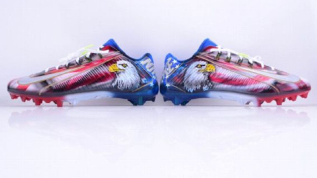 Odell Beckham, Victor Cruz won't be fined for 9/11 cleats, per report