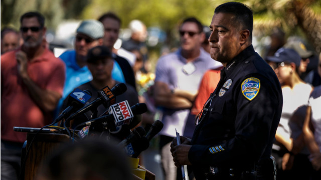 Slain Northern California officers honored at vigil