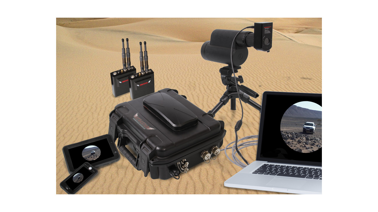 Remote Tactical Global Video Streaming Ruggedized Manet Radios