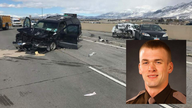 Trooper hit on I-15 released from hospital