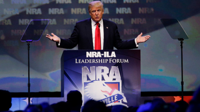Trump to speak at gun-rights group annual forum