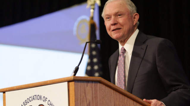 United States attorney general outlines immigration crackdown