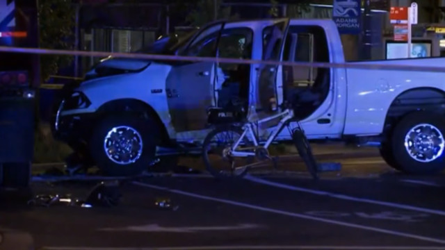 DC Police Officers Hit By Car; 1 In Critical Condition