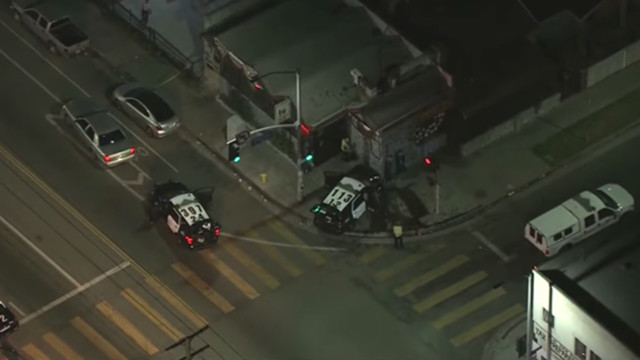 LA police cars stolen, 3 suspects arrested after crashes
