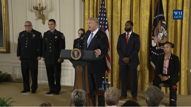 Resident Awarded Medal Of Valor; Responded To Congress Shooting
