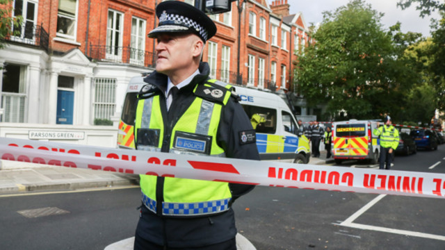Terror threat level in United Kingdom  lowered after two people arrested