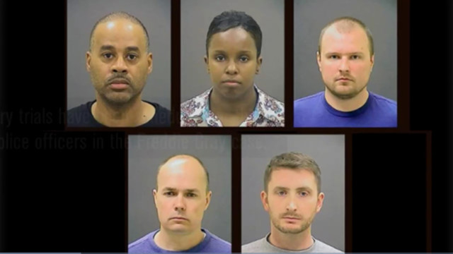 No federal charges for officers in Freddie Gray case
