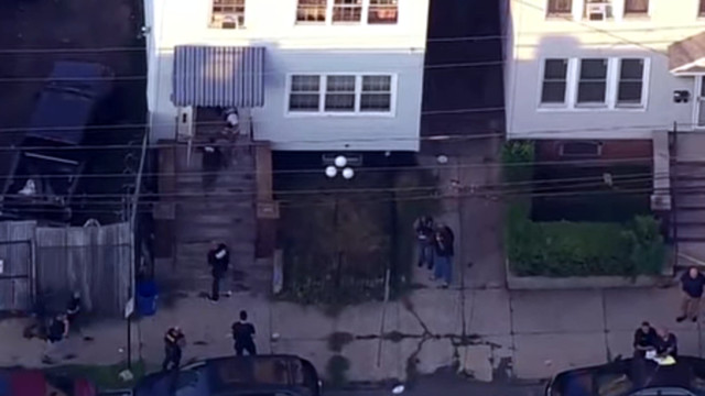 Police officer injured while searching home in Jersey City