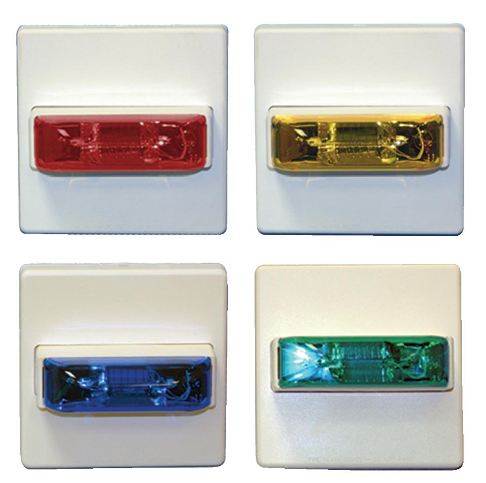 Wheelock Inc Colored Lens Strobe In Lightbars Amp Lights