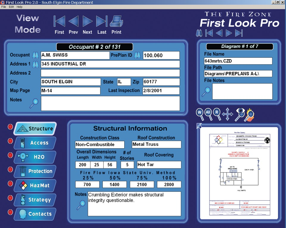 The CAD Zone Inc  First Look Pro 5 in Dispatch Technology