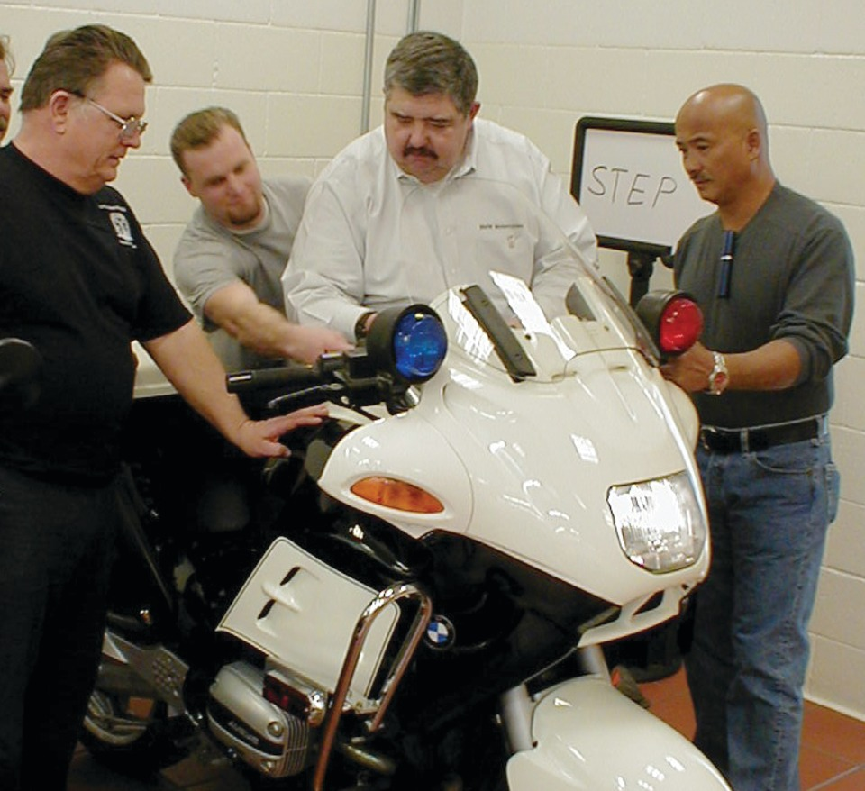 BMW Motorrad USA Police Motors Technical Training in ...