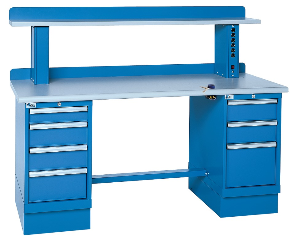 Lista Int L Corp Modular Workbench In Seating Amp Workplaces