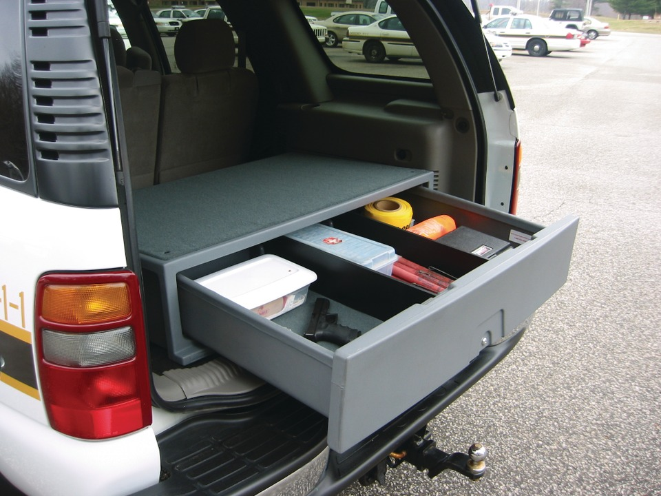 Adamson Industries Corp Suv Cargo Caddy In Equipment